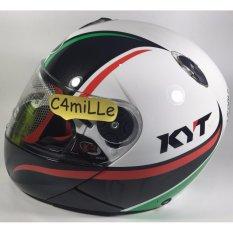 Harga Helm Full Face Kyt Xrocket X Rocket 2 White Black Red Paling Murah