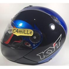 Harga Helm Full Face Kyt Xrocket X Rocket Black Blue Asli