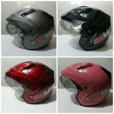 Beli Helm Halo Face Murah Helmet Standart Sni Yang Bagus