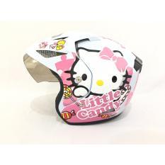 Toko Helm Helmet Dewasa Little Candy Putih Pink Online Di Dki Jakarta