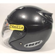 Spesifikasi Helm Ink Centro Original Gun Metal Half Face Ink