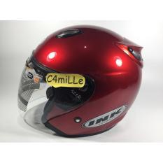Helm Ink Centro Original Red Maroon Hald Face Ink Diskon 30