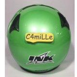 Review Tentang Helm Ink Cx 22 Solid Green Apple Half Face Original