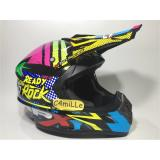 Spesifikasi Helm Jpx Cross X10 Lady To Rock Super Black Trail Super Cross Baru