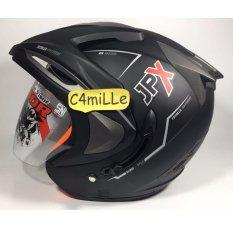 Harga Helm Jpx Double Visor Black Doff Yang Murah