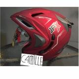 Beli Helm Jpx Supreme Double Visor Red Maroon Dop Original Yang Bagus