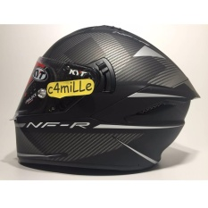 HELM KYT CASCO NF-R LOGOS MATT GREY DOUBLE VISOR FULL FACE NFR SPECIAL EDITION LIMITED STOCK SIZE M