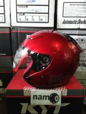 Helm Kyt Dj Maru Merah Marun