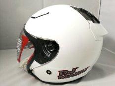 Helm KYT Dj Maru Solid White / Putih