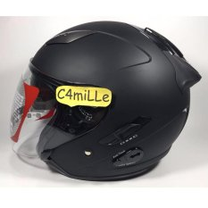 Helm KYT Galaxy Solid Black Dof
