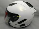 Promo Helm Kyt Galaxy Solid White Putih Murah