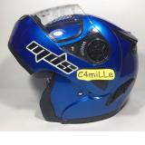 Review Toko Helm Mds Pro Rider Solid Cy Blue Modular Full