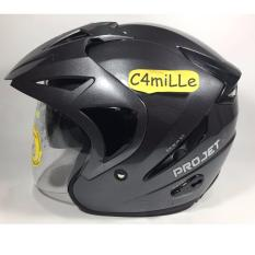 Jual Helm Mds Projet 2 Solid Graphic Metalic Double Visor Half Face Lengkap
