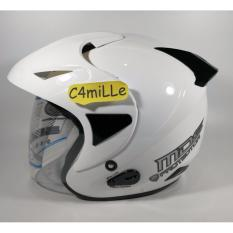 HELM MDS PROTECTOR SOLID WHITE HALF FACE
