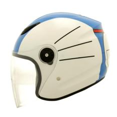 Helm 	Milan Cartoon Dora Bell White / Blue