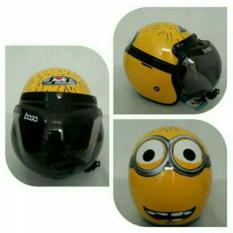 Helm Bogo Retro Full Synthetic Leather dewasa / Remaja - putih coklat. Source · Helm Bogo Sni Dewasa \IDR190000. Rp 190.000