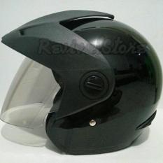 helm murah indonesia import eksport helm termurah  Helm Half face Honda TRX-3