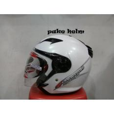 HELM NHK GLADIATOR SOLID WHITE HALF FACE