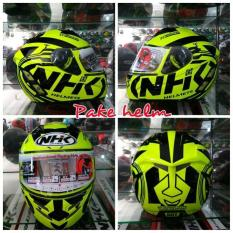 HELM NHK HELM NHK FULL FACE HELM NHK TERMINATOR ROAD YELLOW