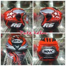 HELM NHK R6 PIXEL BK RD