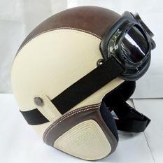 Harga Helm Pres Retro Kacamata Classic Dewasa Chococream Yang Murah Dan Bagus