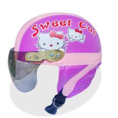Beli Barang Helm Retro Anak Karakter Sweet Cat Online