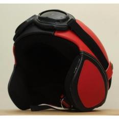 Harga Helm Retro Pororo Klasik Dewasa Remaja Style Asiikk Merah Hitam New