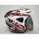 Harga Helm V27 Box Magic Red Super White Gloss Vb M Paling Murah