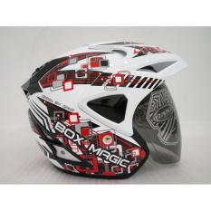 Harga Helm V27 Box Magic Red Super White Gloss Vb M Ganz