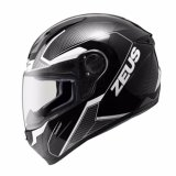 Helm Zeus Fullface Zs 811 Black Al6 Grey Original