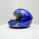 Beli Barang Helm Zeus Fullface Zs 811 Yamaha Blue Al6 Black Online