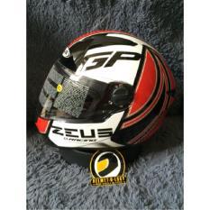 Helm Zeus Z 811 AL6 White Red Full Face