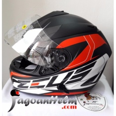 Helm ZEUS ZS806 Pattern ZS-806 Import ZS 806 Full Face Double Visor