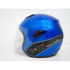 Toko Helmet G16 Classic Edition Byon Blue Vt M Termurah