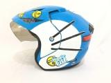 Harga Helmet Karakter Doraemon Biru Putih No Brand Baru