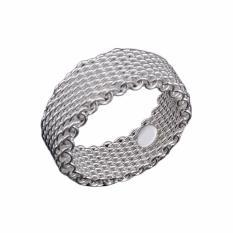 Hequ Natal Promosi Grosir Perhiasan Cincin Silver 925 Retifism Cincin Fashion Perhiasan Klasik Nikel-Intl