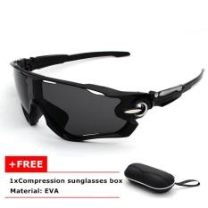 Nya Mia Pria Fashion Polarized Outdoor Riding Sunglasses Mobil Mengemudi Sun Glasses 100% UV400 Polarized Goggle Kacamata Cermin Mata Hitam (no.10) -Intl