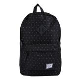 Promo Toko Herschel Heritage M Backpack Black Grdlck