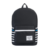 Pusat Jual Beli Herschel Pop Quiz Backpack Black Offset Stripe Indonesia