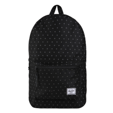Iklan Herschel Settlement Backpack Black Grdlck
