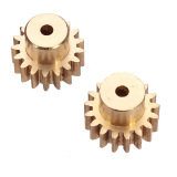 Ulasan High Quality 2Pcs Motor Gear For Wltoys A949 A959 A969 A979 390 Motor 17T Gear Rc Car Glod Intl