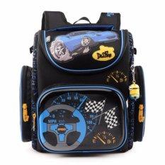Tinggi Kualitas 6-10 Tahun Anak Laki-laki Hard Shell Backpack Waterproof Kids Schoolbag Melindungi Tulang Belakang-Intl