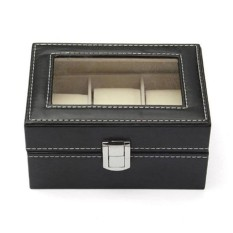 Diskon High Quality Astar New Jewelry Watch Display Box Collection Case Holder Organizer Metal Buckle Intl Not Specified