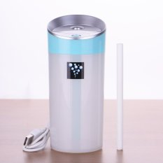 Harga High Quality Car Humidifier Usb Aromatherapy Diffuser Essential Oil Diffuser Air Ultrasonic Humidifier Air Aroma Diffuser Mist Maker 300Ml Blue Intl Terbaik