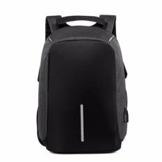 Berkualitas Tinggi Multi-fungsional Backpack Casual Shoulder Bag Anti-Theft Backpack Bag (Black)-Intl