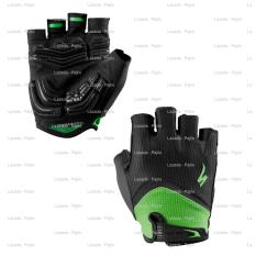 HIJAU SPECIALIZED HALF BG Gel - Wiretap Sarung Tangan Sepeda Motor Full Touring Tour Bikers Bike Gloves Sport Fixie MTB