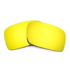 Hkuco Mens Replacement Lenses For Gascan Sunglasses 24K GoldPolarized