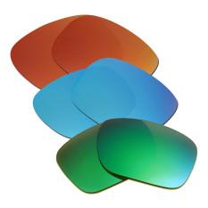 Hkuco Mens Penggantian Lensa untuk Model Holbrook Merah/Biru/Emerald Green Kacamata-Intl