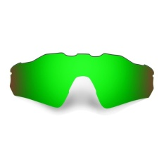 HKUCO Polarized Penggantian Lensa untuk RADAR EV Path Sunglasses-HIJAU-Intl