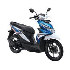 Honda All New BeAT eSP FI Sporty CBS Tecno Blue White OTR Jakarta,tangerang,Banten
